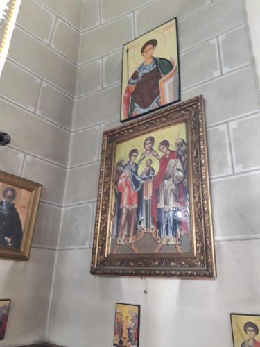 Pôvodná ikona v cerkvi
