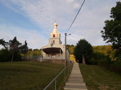 Pravoslávny chrám, pod ktorým sa nachádza krypta
