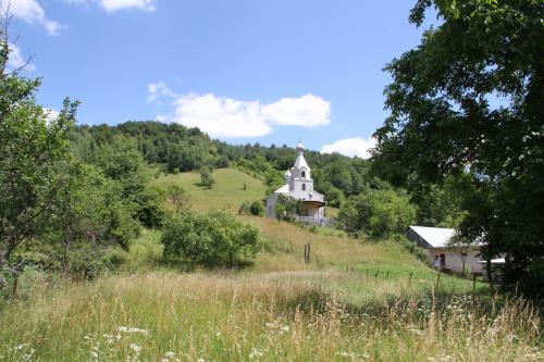 Pravoslávny chrám v lete