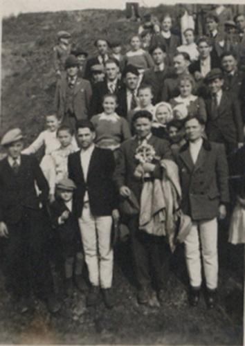 1947 Vítanie biskupa
