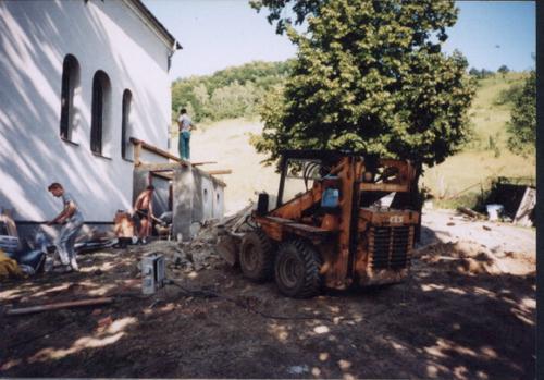 Stavba prístavby