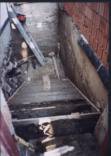 Betónovanie schodov prístaby