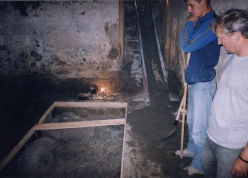 Betónovanie podlahy